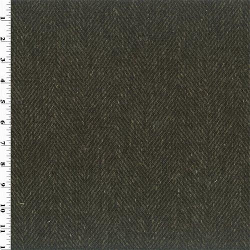 Tunnel Black Zegna Herringbone Home Decorating Fabric, Fabric By the - Zegna Discount