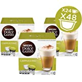 NESCAFÉ Dolce Gusto Coffee Capsules Cappuccino, 16 Count ( Pack Of 3 )