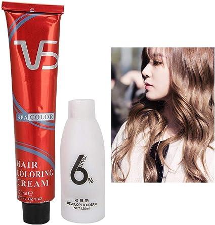 Crema colorante para el cabello, la crema colorante para el ...