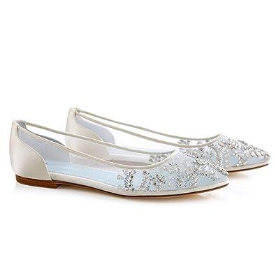 9fa0011d6e6 Bella Belle Flat Embellished Wedding WLL 6.5 Ivory