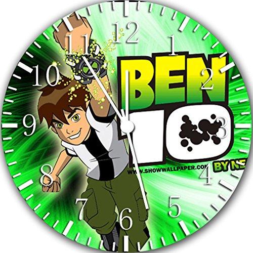 Ben 10 Frameless Borderless Wall Clock W392 Nice For Gift or Room Wall Decor by Frameless Clock