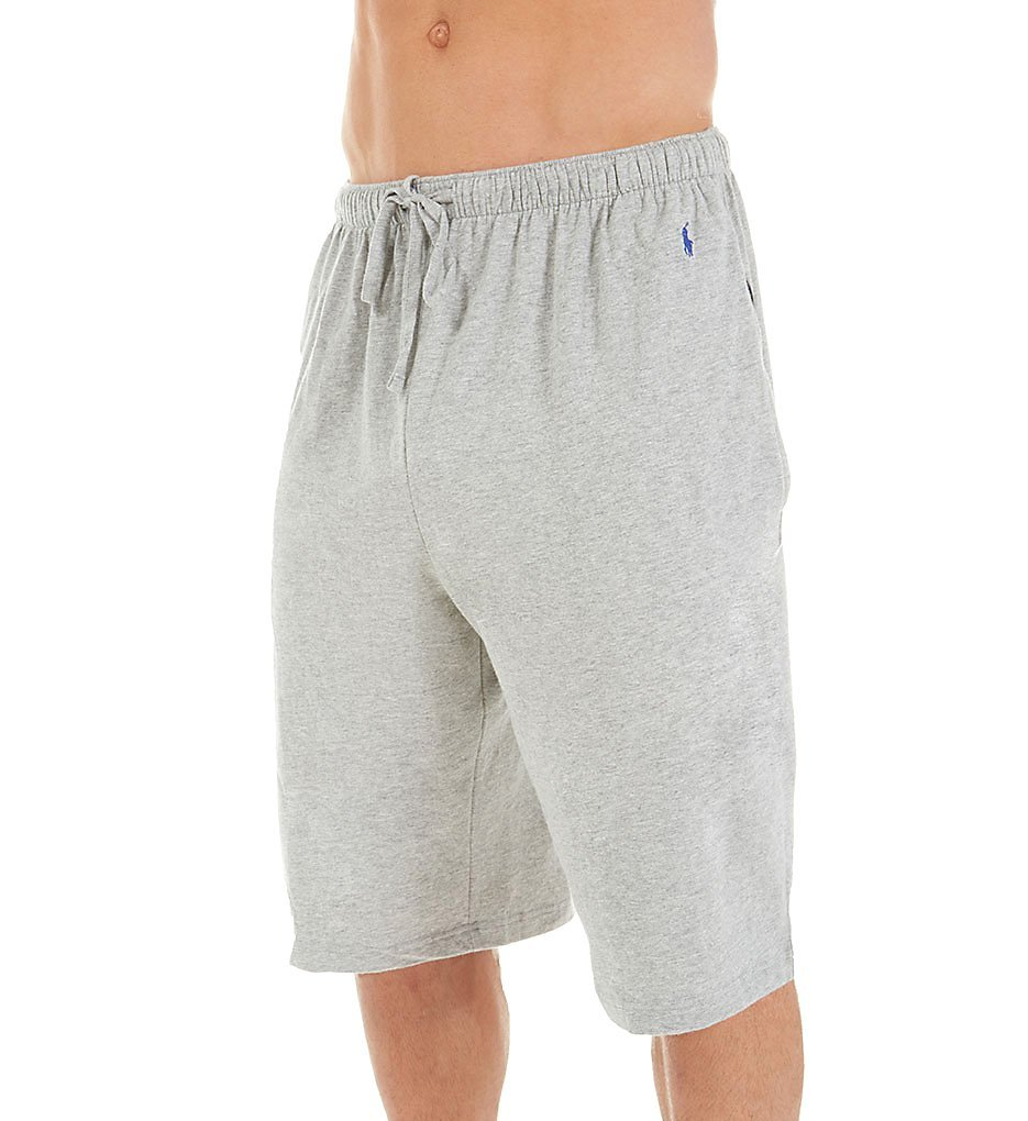Polo Ralph Lauren Relaxed Fit 100% Cotton Sleep Short (L164RL) L/Andover Heather