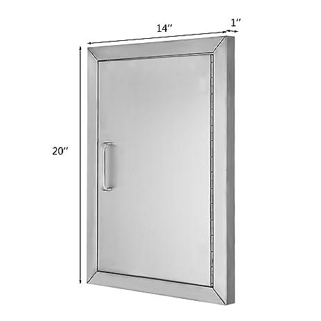 FoodKing BBQ Doors 14\u0026quot;(W)x 20\u0026quot;(H) Stainless Steel