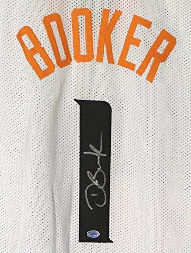 Devin Booker Phoenix Suns Signed Autographed White #1 Custom Jersey COA -