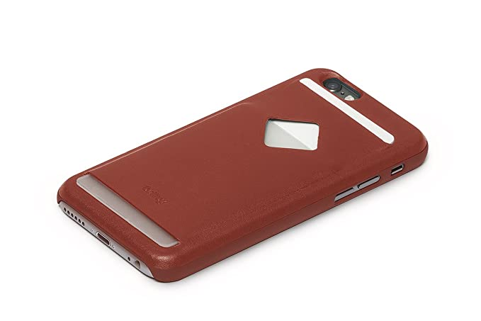 Bellroy Funda de teléfono de Piel iPhone 6 Phone Case - 3 Card Tamarillo
