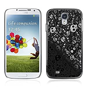 Graphic4You Skull Death Theme Pattern Design Hard Case Cover for Samsung Galaxy S4 S IV