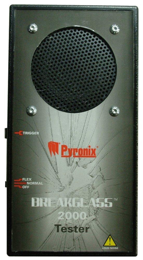 py60 - Pyronix bg-tester break-glass acústico simulador/Tester w/Flex y simulación de roturas: Amazon.es: Electrónica