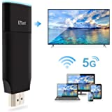 EZCast 2 WiFi Display Dongle for TV, 1080P 2.4G&5G Dual Core Dual Decoder, Concurrent AP-Router P2P Connection, Support…