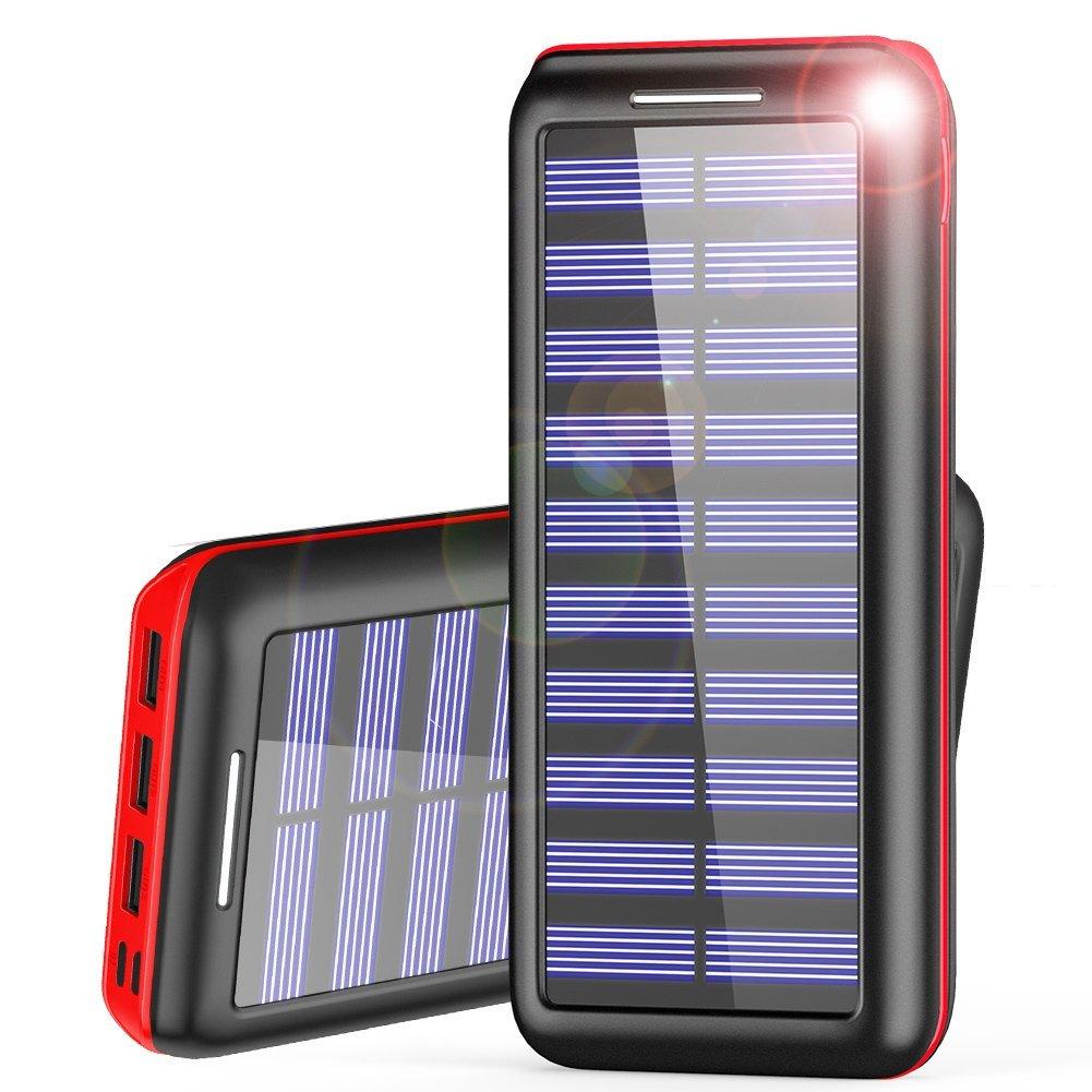 Power Bank AKEEM Mejorar 24000mAh Cargador Móvil Portátil Batería Externa...