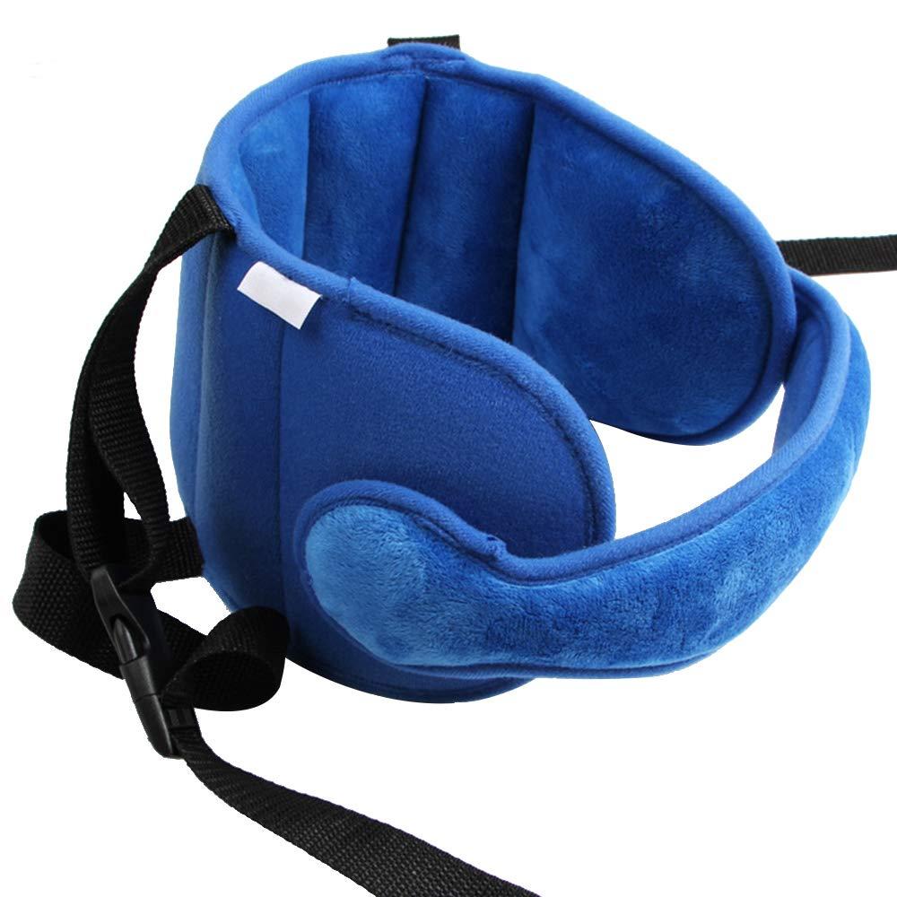 Asiento de Seguridad para la Cabeza Soporte Ajustable Suave y C/ómodo Cintur/ón de Protecci/ón Festnight Soporte para la Cabeza del Coche