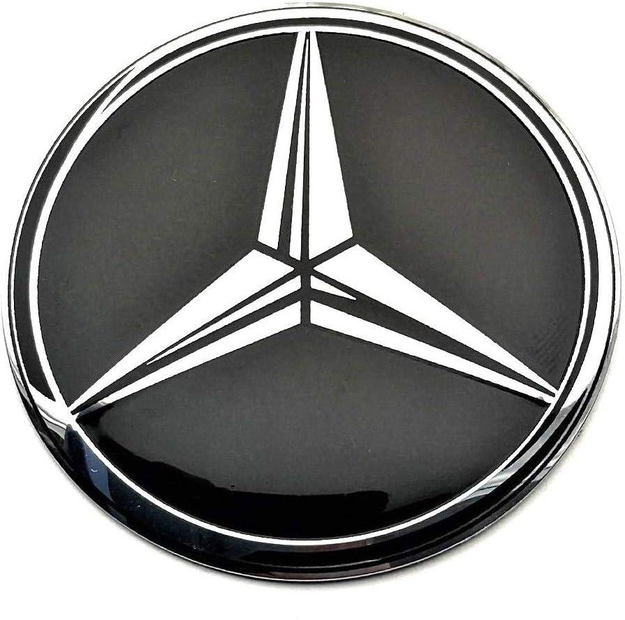 para tapas tapacubos MercedesBenz autoadhesivas Conjunto de 4 x 65mm pegatinas de rueda