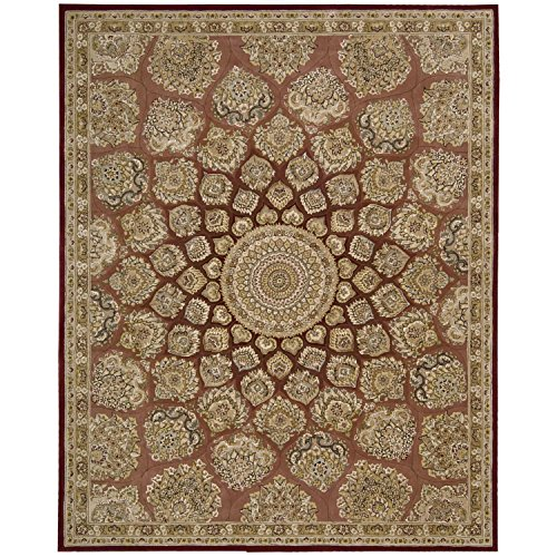 Nourison Nourison 2000 (2318) Rose Rectangle Area Rug, 2-Feet by 3-Feet  (2' x -