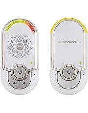Motorola MBP 8/MBP 11/MBP 16 - Baby monitor audio digitale con modo eco, bianco