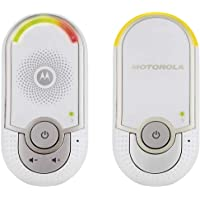 Motorola MBP8 - Vigilabebés audio, color blanco