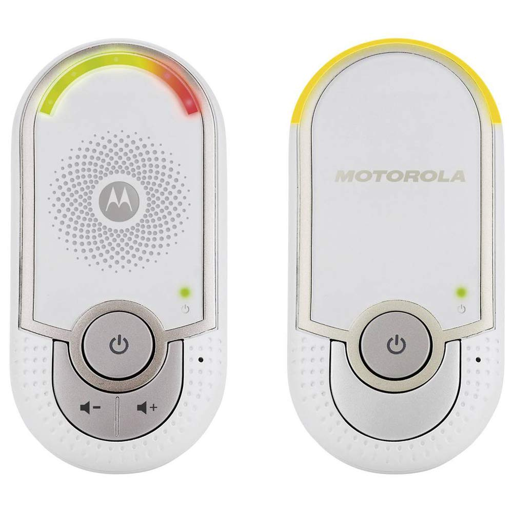"Motorola MBP 8 - Baby monitor audio digitale ""plug-n-go"" con modo eco e luce notturna, bianco product image"