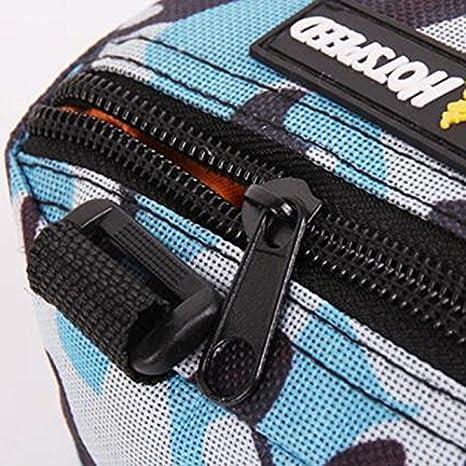 WeiMay Camo Bicycle Triangle Frame Bag Bolsa de secado r/ápido resistente al desgaste