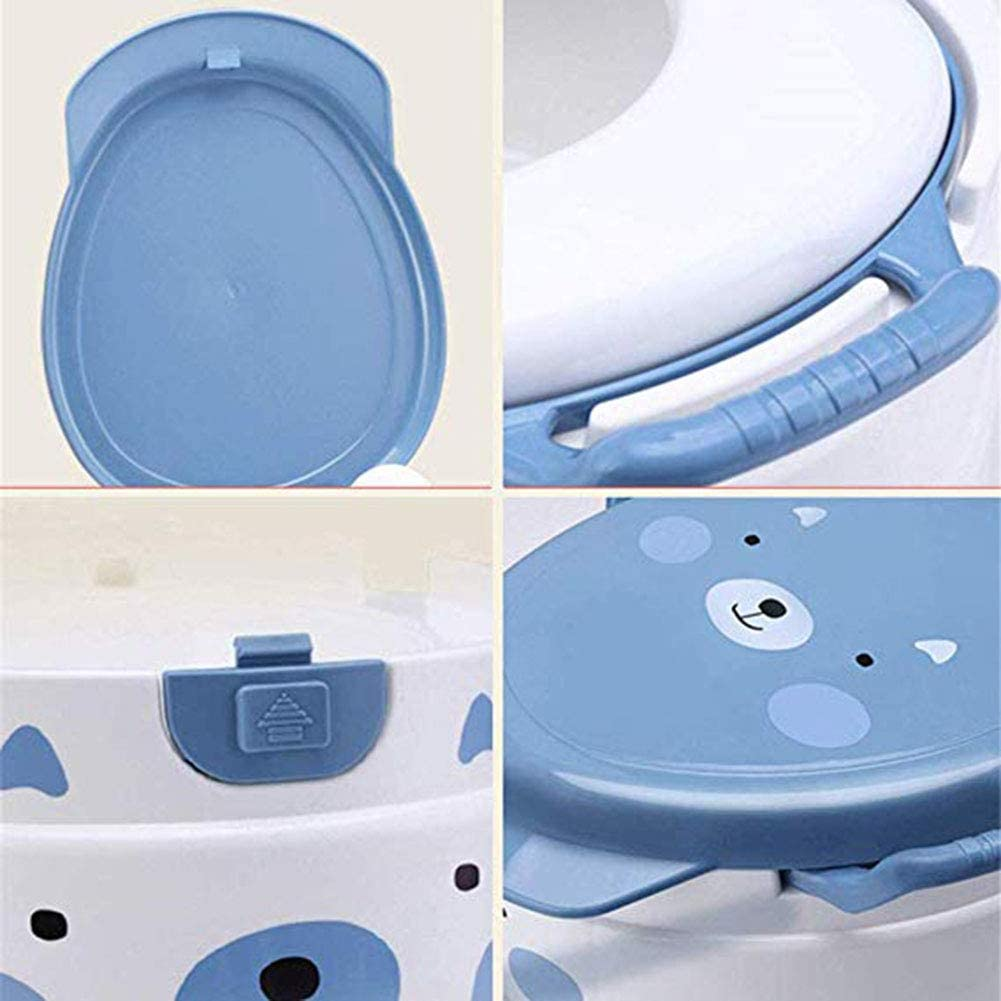 Rainbow bridge Kinder WC-Toilette Baby-Potty WC Boy Girl Training Pissoir Dual-Purpose