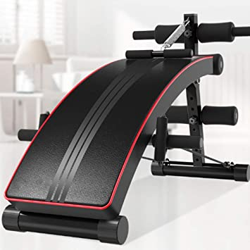 FE Aparato De Abdominales Máquina Plegable Aparato De Musculación Fitness Entrenamiento Tablero Supino Banco Mancuerna: Amazon.es: Deportes y aire libre