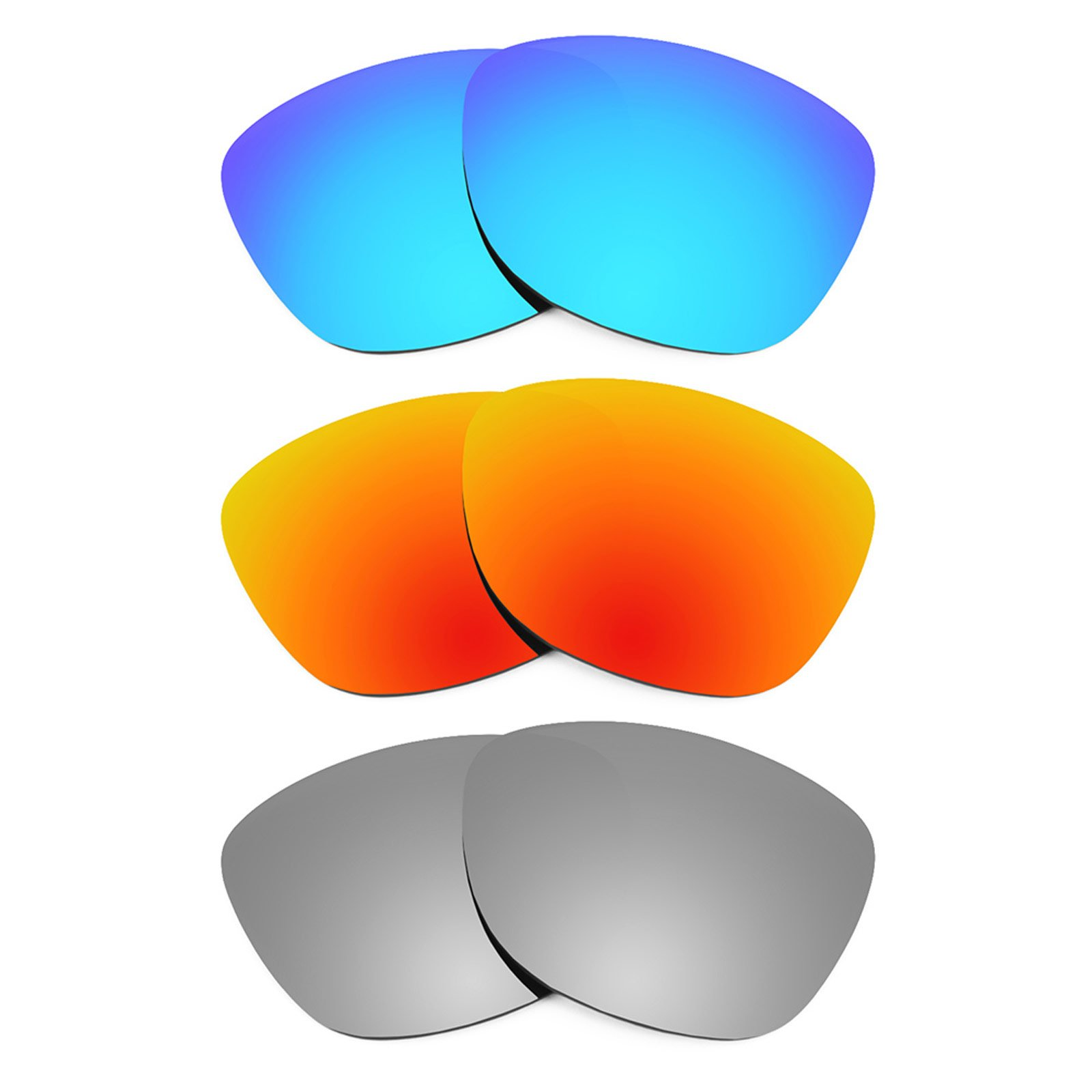 Revant Replacement Lenses for Oakley Frogskins 3 Pair Combo Pack K014
