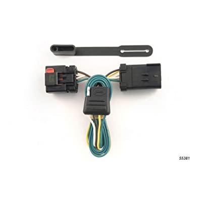 CURT 55381 Vehicle-Side Custom 4-Pin Trailer Wiring Harness for Select Chrysler, Dodge, Jeep Vehicles: Automotive