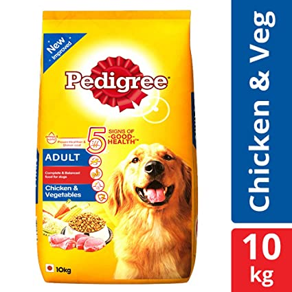 Buy Pedigree Adult Dry Dog Food Chicken Vegetables 10 Kg Pack