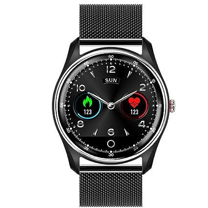 Amazon.com: WANGCHAO Color Screen Smart Watch, ECG+PPG ECG ...