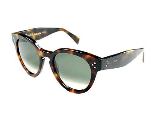45c517b3c0ac Celine 41049 S 05L Havana Thin Preppy Round Sunglasses Lens Category 3 Size  52m  Amazon.co.uk  Clothing