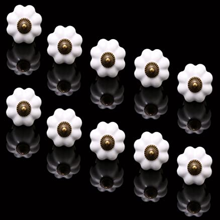 10 X Pomelli cassetti Auralum® Maniglie e pomelli per cassetti di ...