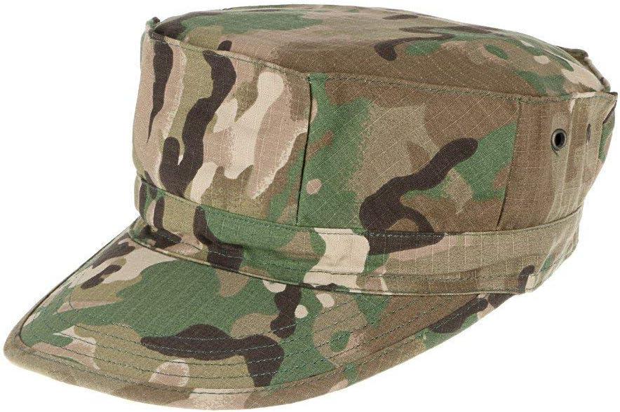Camouflage Herren-Milit/ärhut Cadet Military Cap UV Schutz Sonnencreme Leichte Atmungsaktive Kappe