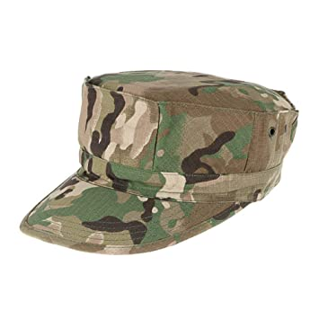 Lejie Camuflaje Sombrero Militar de Los Hombres Cadete Gorra Militar  Protección UV Protección Solar Luz Transpirable Cap  Amazon.es  Deportes y aire  libre d0b3bc980e2