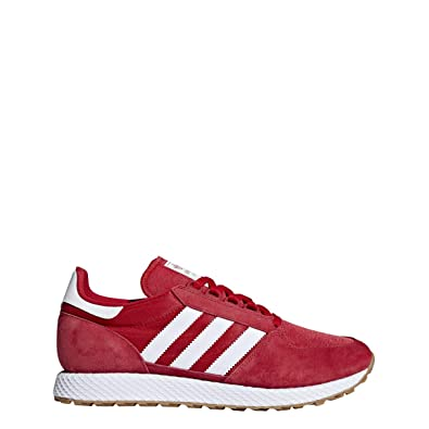 best loved 633fa 534dd adidas Men s Forest Grove Scarlet Red B41530 (Size  ...