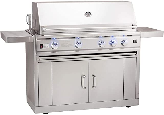Summerset Trl Deluxe 44-inch 4-burner Built-in Natural Gas Grill With Rotisserie Trld44-ng