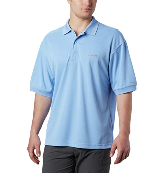 Columbia Sportswear Mens Perfect Cast Polo Shirt, White Cap, 4X ...