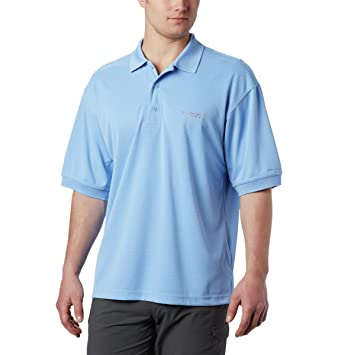 Columbia Sportswear Mens Perfect Cast Polo Shirt, White Cap, X ...