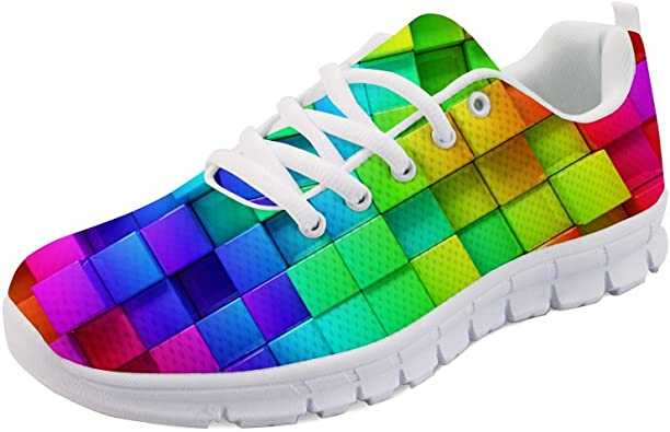 doginthehole Bright Color Running Shoes