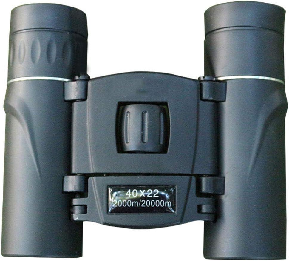 40 * 22 binoculares Mini telescopio de Bolsillo Binoculares portátiles de Alta definición para Perros de Alta definición con Poca luz para Adultos Especiales
