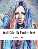 img - for Adult Color By Number Book: Large Print Color By Number Coloring Book for Adults with Dresses, Town Houses, Flowers, Gardens, and More book / textbook / text book