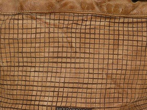 FredsBruder Cut it Vintage Mixpixel Borsa a mano pelle 37 cm Caramel (Marrone) Limitado Venta Al Por Mayor Del Mejor Barato Mejor Lugar Para La Venta LZel5Z4up
