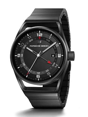 newest collection bfaec d9509 Amazon.co.jp: ポルシェデザイン1919 globetimer自動時計、GMT ...