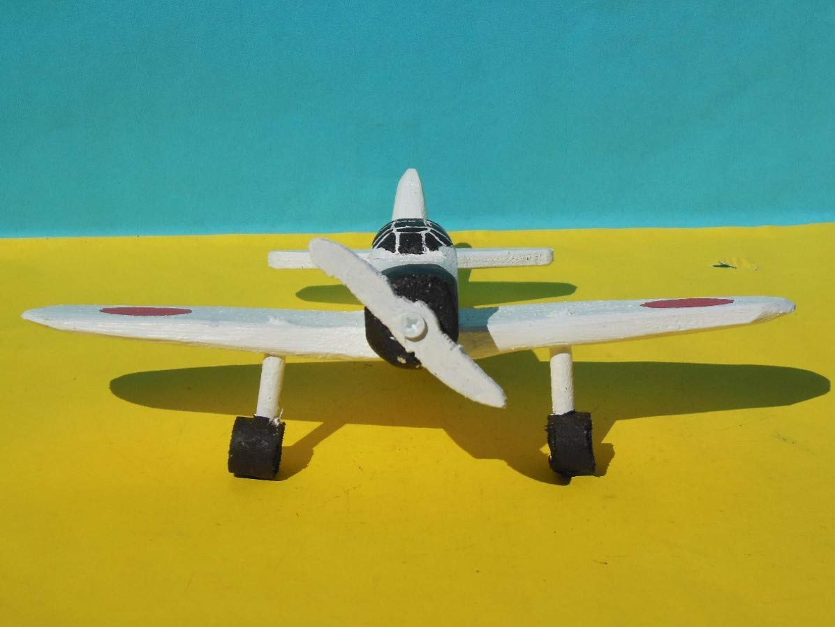Wooden Toy Zero Airplane