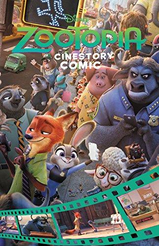 Download Disney Zootopia Cinestory Comic pdf