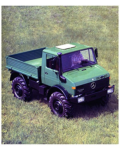 1984 Mercedes Benz Unimog U1500 Agriculture Forestry Truck Factory Photo