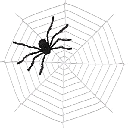 Amazon Com 9 85ft Spiders Web Amyhomie Spider Web For Halloween