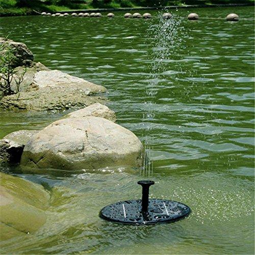 Solar Power Fountain Alisabler Solar Panel Water Floating