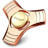 Innoo Tech 高級品 ハンドスピナー 指スピナー 赤銅 精加工 4~7分 ボールベアリング ノイズ低減 高速回転 おもちゃ Hand Spinner Fidget Spinner 指遊び そわそわ指間のこまの玩具 ストレス解消 暇つぶし ADHDに適用