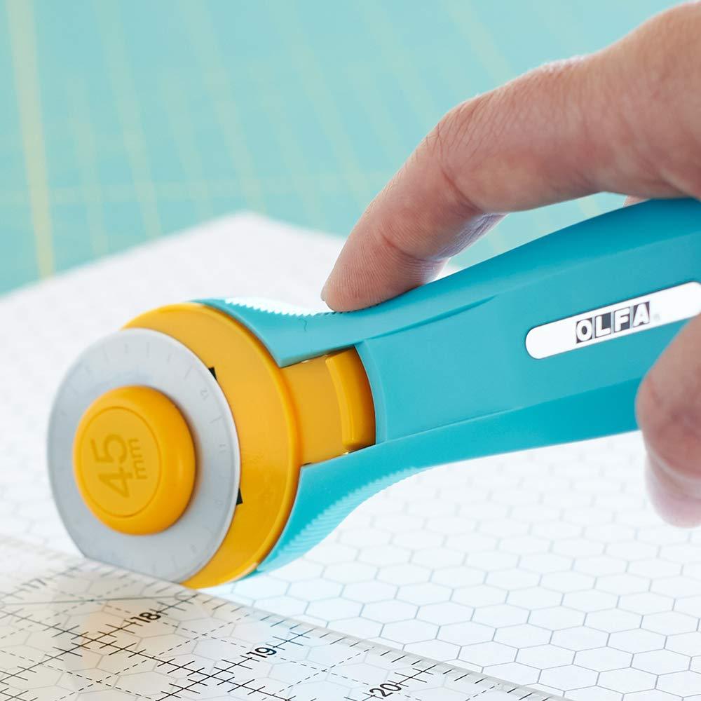 Best Rotary Cutter-OLFA RTY-2/C 45mm Splash Rotary Cutter