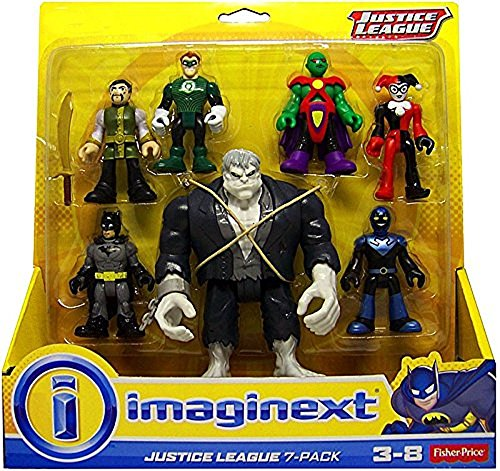Fisher Price Imaginext DC Comics Justice League Action Figure 7-Pack]()
