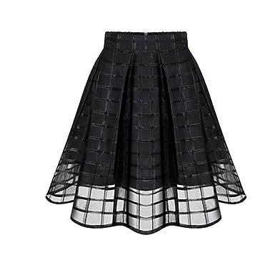 Kleid mit organza rock