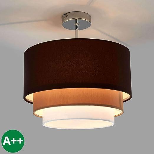 Lámpara de techo Jayda (Moderno) en Marrón hecho de ...