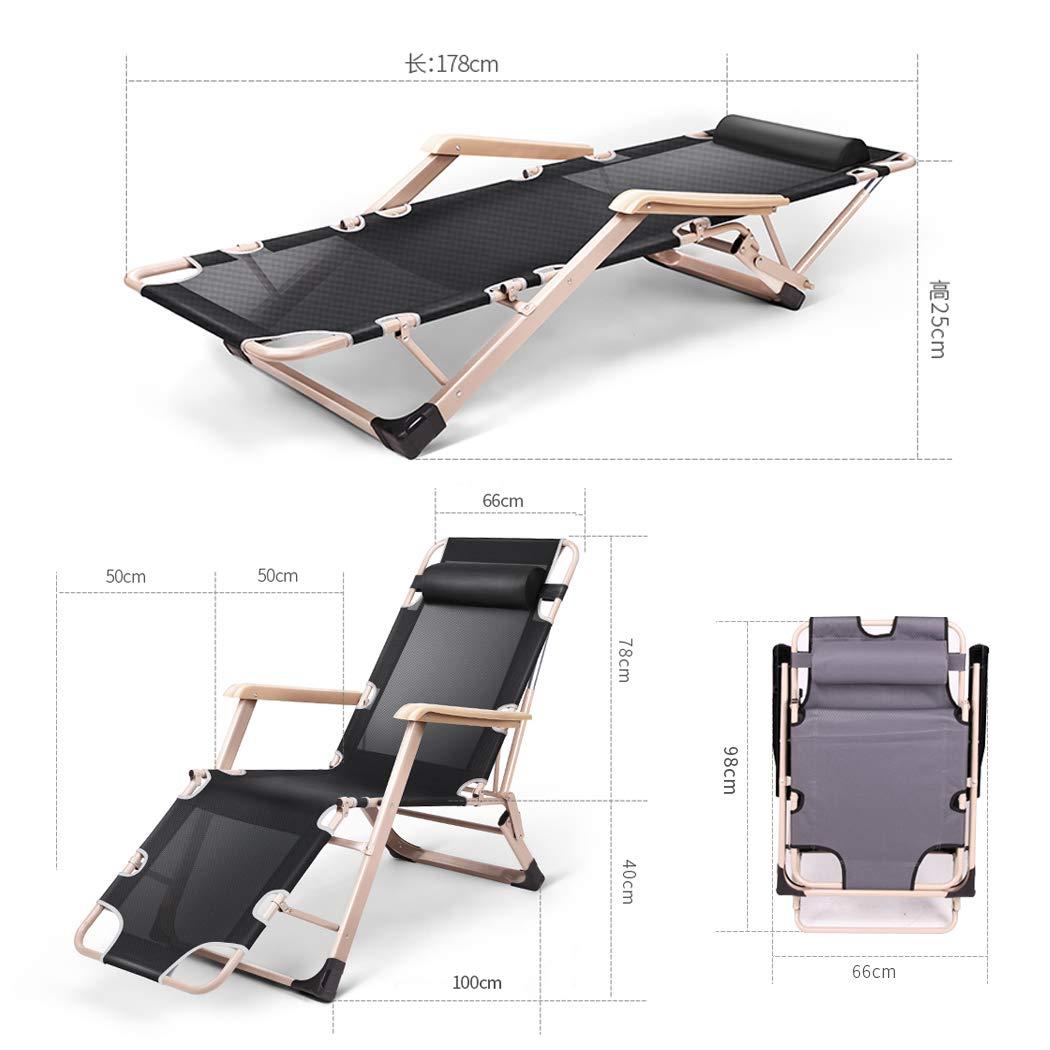 Amazon.com: GAIBO Silla plegable de gravedad cero, silla de ...